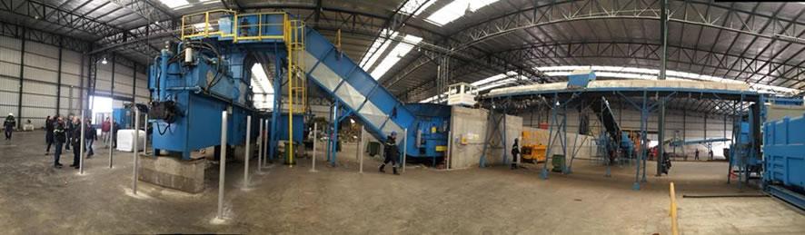 Amplitec e Essencial visitam planta de tratamento e reciclagem de resíduos em Buenos Aires