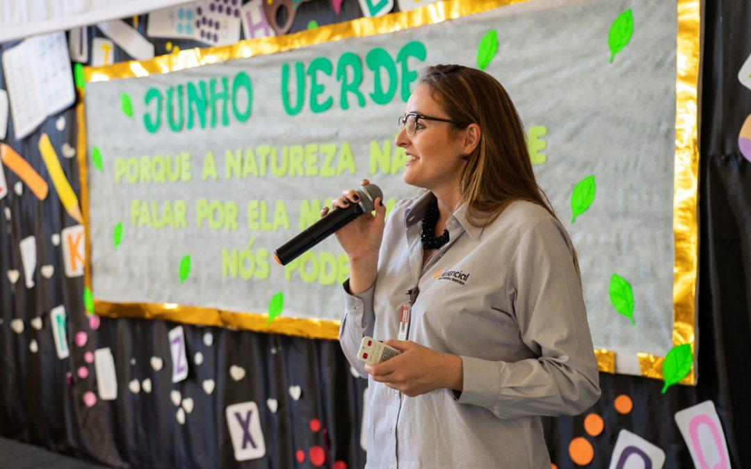 Essencial realiza palestra sobre meio ambiente