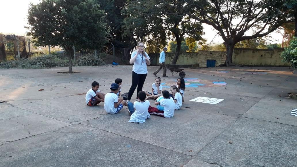 CTR Essencial realiza atividades do programa de comunicação social e educação ambiental em Rio das Pedras