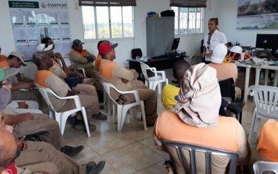 Funcionários da Essencial participaram de treinamento nr 6
